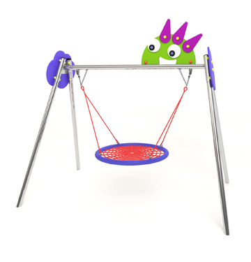 new monsters swing with nest seat