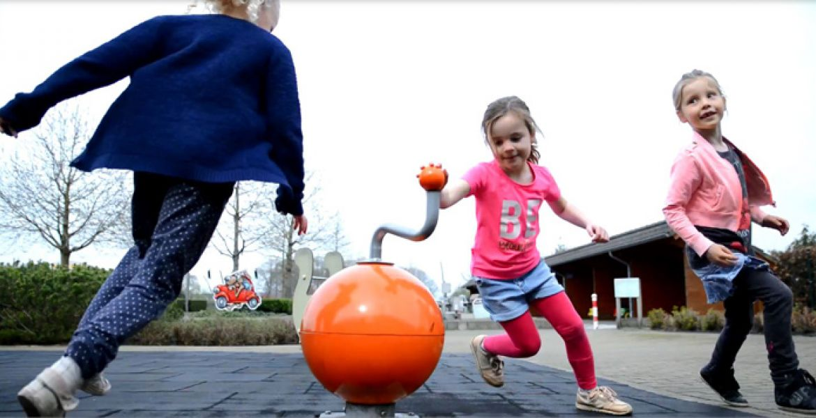 Sustainable interactive playground equipment